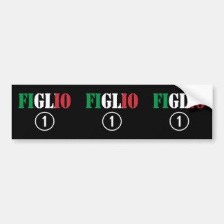 Italian Sons : Figlio Numero Uno Car Bumper Sticker