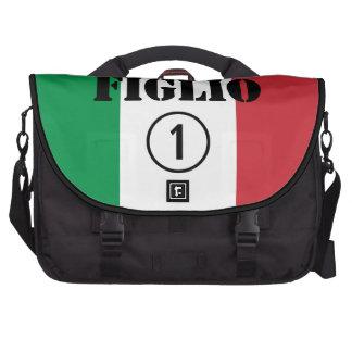 Italian Sons : Figlio Numero Uno Laptop Computer Bag