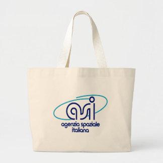 Italian Space Agency  Agenzia Spaziale Italiana - Large Tote Bag