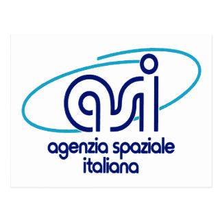 Italian Space Agency  Agenzia Spaziale Italiana - Postcard