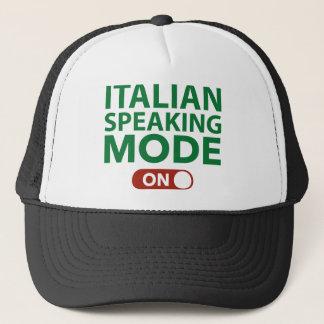 Italian Speaking Mode On Trucker Hat