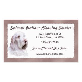 Italian Spinone Italiano Business Card