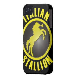Italian Stallion BlackBerry Bold Case-Mate iPhone 4 Cover