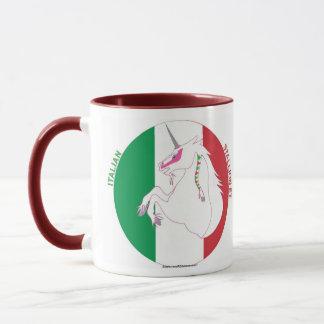 Italian Stallion-et Unicorn Ringer Mug