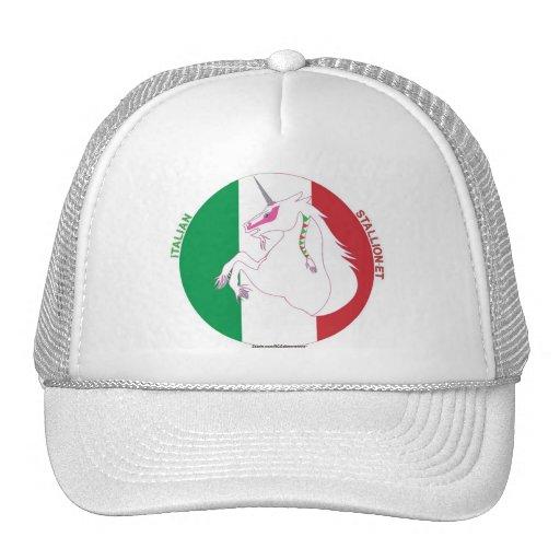 Italian Stallion-et Unicorn/White Trucker Hat