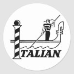 Italian Sticker Stickers