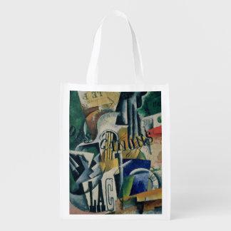 Italian Still Life, 1914 Reusable Grocery Bag