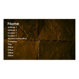 Italian stone business card