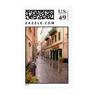Italian Streets Postage