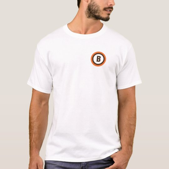 Italian Style Cleveland Football Badge T-Shirt