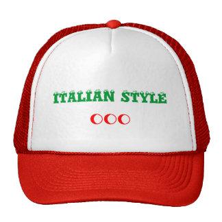 ITALIAN STYLE Hat