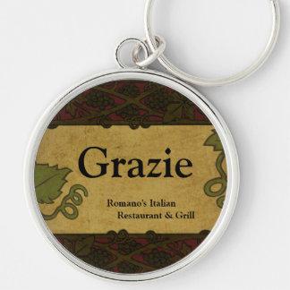 Italian Style - Restaurant/Store Add Keychain