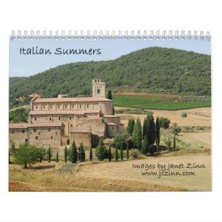 Italian Summers 2015 Calendar