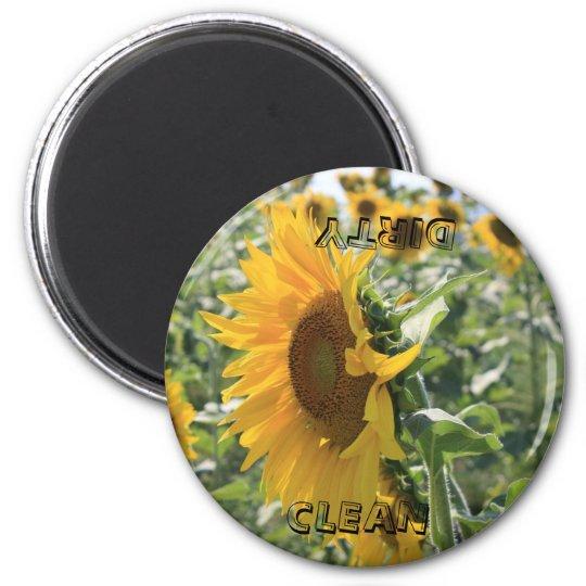 Italian Sunflower Magnet