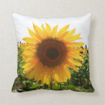 Italian Sunflower Throw Pillow