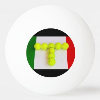 ITALIAN TENNIS  PING PONG  BALL