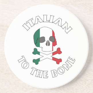 Italian To The Bone Sandstone Coaster
