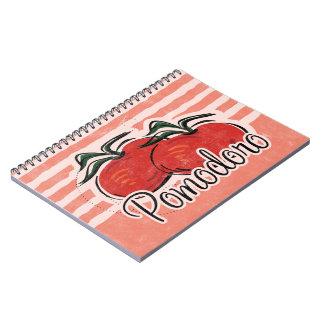 Italian Tomato Notebook