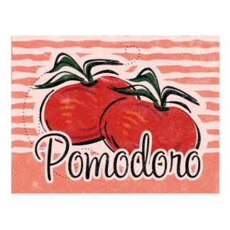 Italian Tomato Recipe Card Postcard
