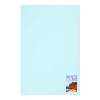 Italian tour poster stationery