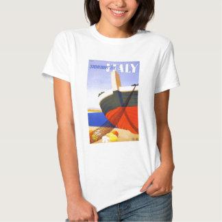 Italian tour poster tee shirt