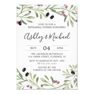 Tuscan Invitations Zazzle