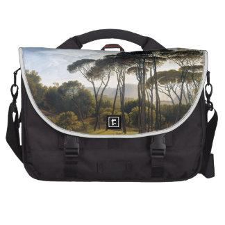 Italian Umbrella Pine Trees Laptop Bag