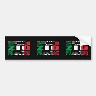 Italian Uncles : Qualities Bumper Sticker