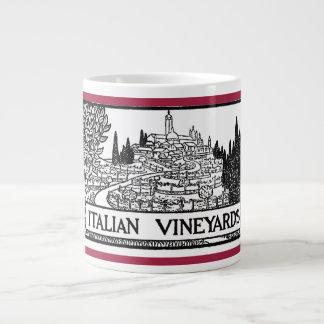 Italian Vineyards - 1919 design by M. Campion Giant Coffee Mug