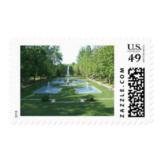 Italian Water Gardens Stamp