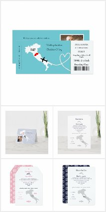 Italian Wedding Destination Set