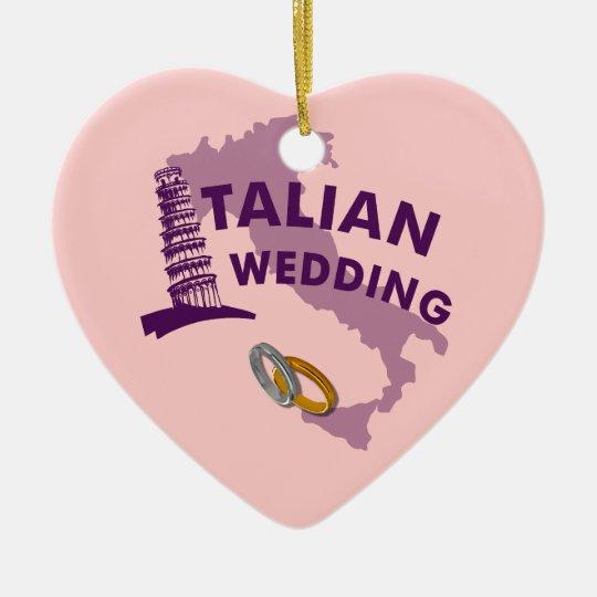 Italian Wedding Ornament