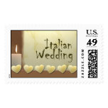 Italian Wedding Postage Stamps