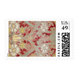 ITALIAN WEDDING SILK POSTAGE STAMPS