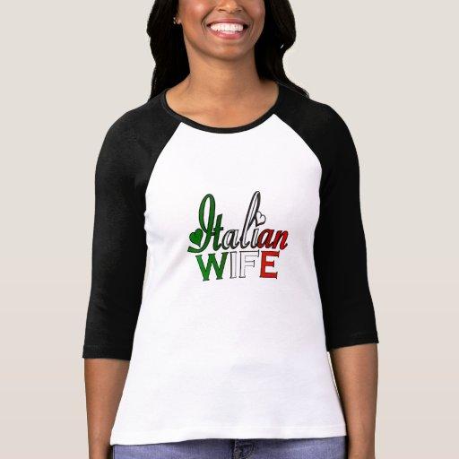 Italian Wife T-shirts