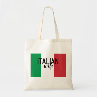 Italian Wife Tote Bag