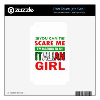 Italian Wife Wife iPod Touch 4G Decal