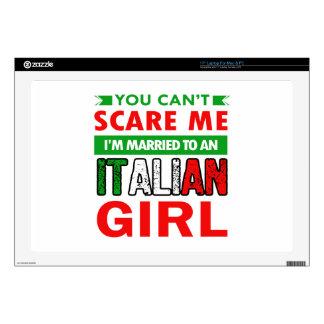 "Italian Wife Wife Skin For 17"" Laptop"