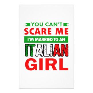 Italian Wife Wife Stationery