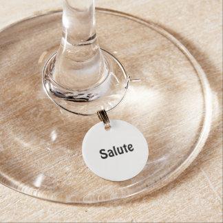 Italian Wine Charm