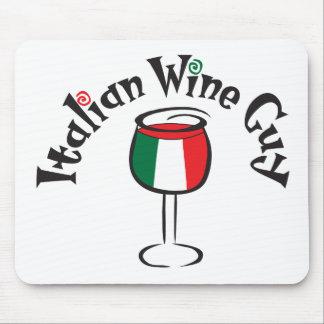 Italian Wine Guy1 Mouse Pad