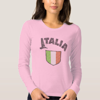 Italian Womens Vintage Long Sleeve Shirt