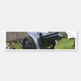 Italian World War Two Howitzer Bumper Sticker