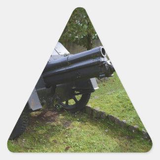 Italian World War Two Howitzer Triangle Sticker