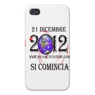 italiano 2012 iPhone 4 protectores