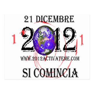 italiano 2012 tarjetas postales