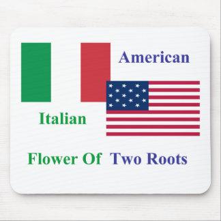 Italiano-Americano Alfombrilla De Ratones