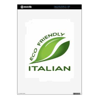 Italiano amistoso de Eco Skins Para iPad 2