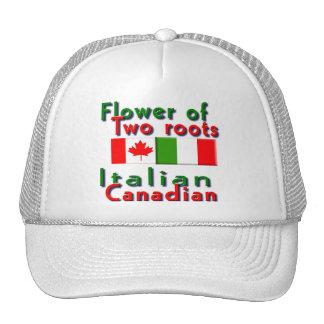 Italiano-Canadiense Gorros Bordados