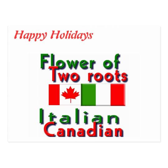 Italiano-Canadiense Tarjetas Postales